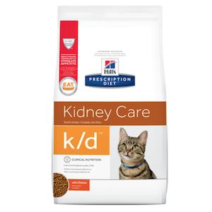 希爾斯- 處方食品 貓用k/d (雞肉)